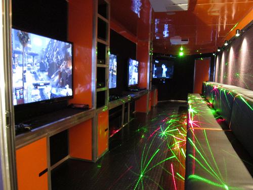 orange-laser-lights